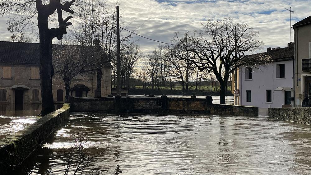 Inondations : Message de Jean-Louis Costes, maire de Fumel