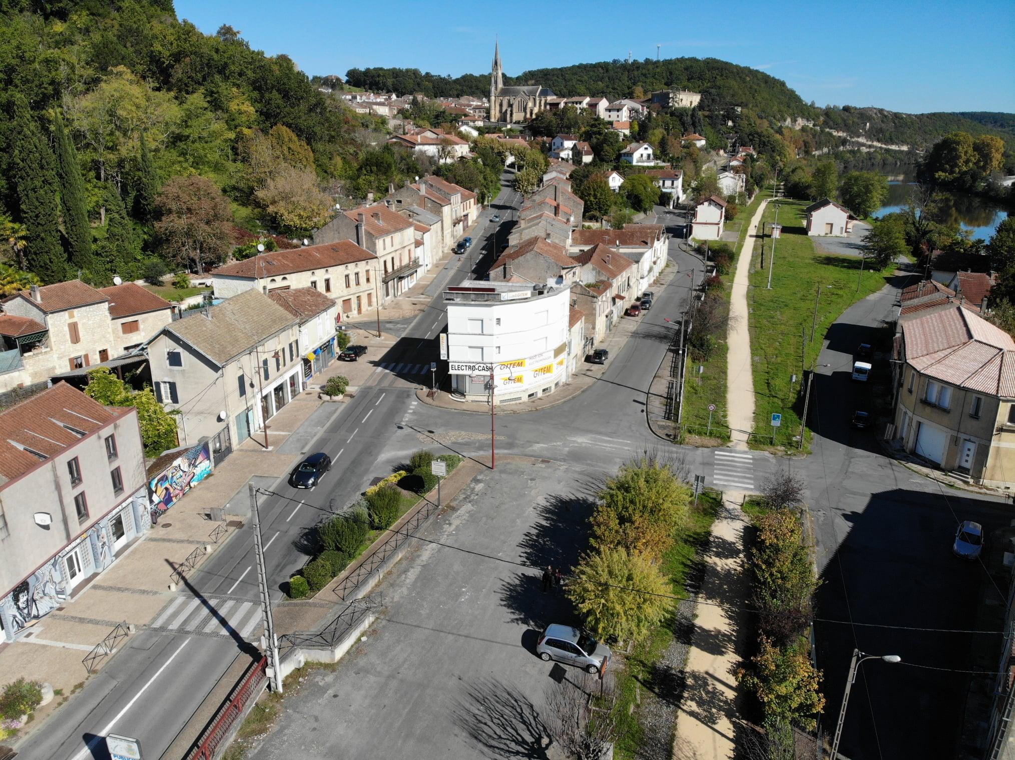 Aménagement et revitalisation du quartier du passage et Léon Jouhaux